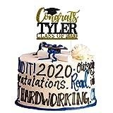 Congrats Grad Cake Topper,2020 Graduation Party Decorations...
