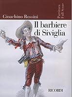 ロッシーニ: オペラ 「セヴィリャの理髪師」/リコルディ社/全曲版スコア