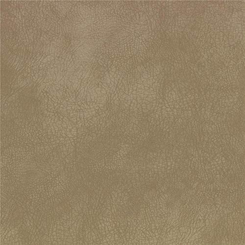 Richloom Tough Soft Faux Leather Kidd Sand Fabric product image