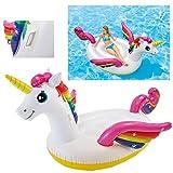 Flotador de unicornio con alas hinchable XL marca INTEX