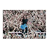 Sänger Dave Grohl Foo Fighters 12 Poster Leinwand Poster