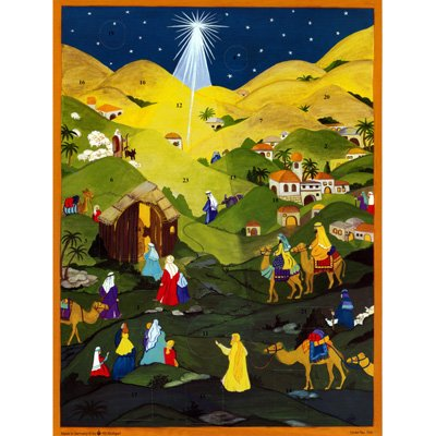 "Advent Calendar ""In the Hills of Bethlehem"""