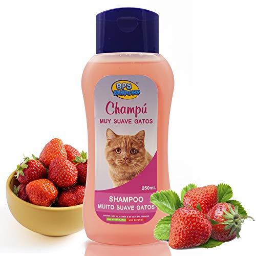 BPS Champú Muy Suave para Gato 250ml Shampoo Animales Domésticos