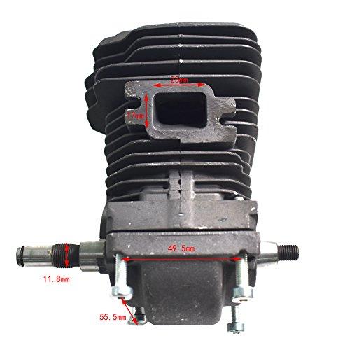 Generic Cilindro pistón Conjunto del cigüeñal de Ajuste para Stihl 023025MS230MS250Motosierra