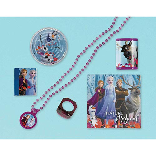 Frozen 2 Birthday, Mega Mix Party Value Pack, Party Favor, 48 Ct,