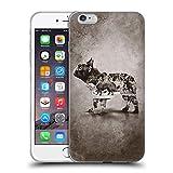 Head Case Designs Licenciado Oficialmente Klaudia Senator Vintage Bulldog Francés Carcasa de Gel de Silicona Compatible con Apple iPhone 6 Plus/iPhone 6s Plus