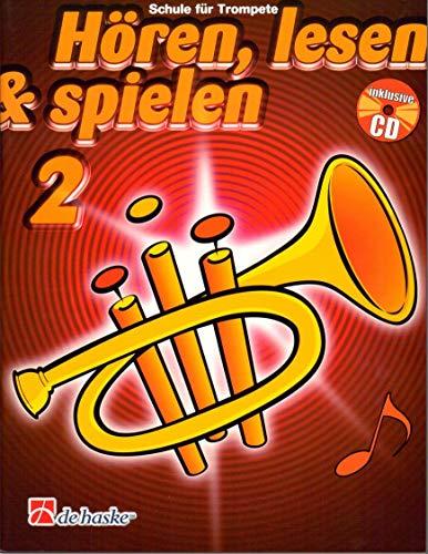 Hören, Lesen & Spielen für Trompete, Band 2 - Schule für Trompete - ISBN 9789043109130 (+ Audio-CD)