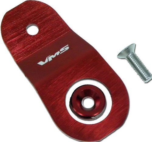 94-01 RED Radiator STAY BRACKET Bolt Kit for Acura Integra DC2 DC4 1994 1995 1996 1997 1998 1999 2000 2001 94 95 96 97 98 99 00 01 ALL Models