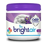 Bright Air Solid Air Freshener and Odor Eliminator, Lavender and Fresh Linen Scent, 14 Ounces