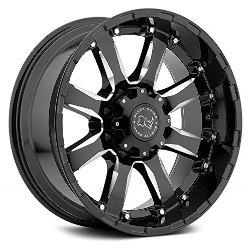 Black Rhino SIERRA Wheel with Painted Finish (20 x 9. inches /6 x 135 mm, 12 mm Offset)