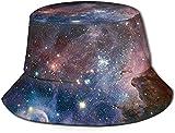 MODORSAN Universe Milky Way Galaxy Print Bucket Hat Pescador Pesca Gorra para el Sol para Mujeres Viajes