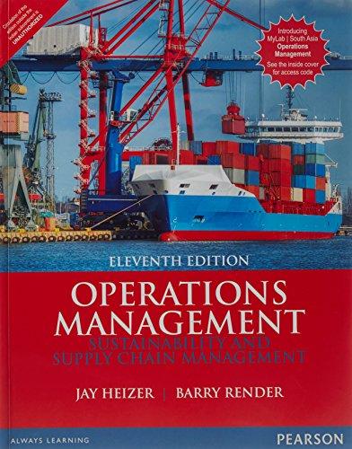 Operations Management 11/e (2 colors)