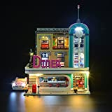 LIGHTAILING Light Set for (Creator Expert The Downtown Diner) Building Blocks Model - Led Light kit Compatible with Lego 10260(NOT Included The Model)