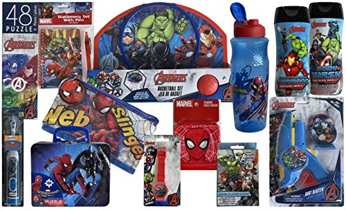 LE Products Epic Character Themed Sets That Make The Coolest Easter Basket or Easter Egg Hunt Ever. (Spiderman/ Avengers)