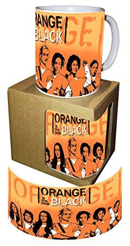 PLSH Tazza Mug Orange is The New Black con Scatola - Idea Regalo San Valentino - Serie TV Netflix