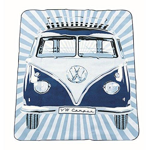 Volkswagen VW Collection Picknick Decke (Einheitsgröße) (Bunt)