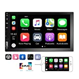 Podofo Double Din Car Stereo Car Radio with buletooth 7'' HD Touchscreen Car