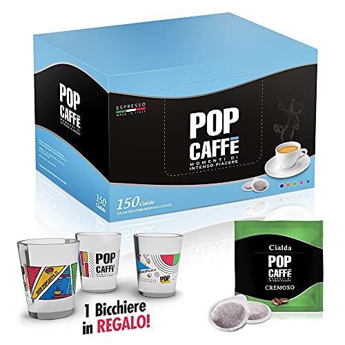 150 CIALDE POP CAFFE  MISCELA ROSSA CREMOSA (CIALDE ESE 44)