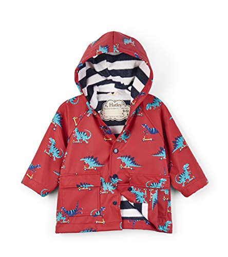 Hatley Printed Raincoats Imperméable, (Scooting Dinos), (Taille fabricant: 12-18 mois) Bébé fille
