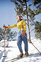 Deanna Durbin Beautiful Image On Ski's Skiing 24x18 Poster