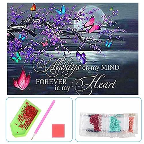 5D Diamond Painting Kits for Adults and Kids, Rhinestone Diamond Arts Kits for...