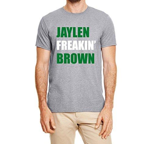 Peg Leg Shirts GRAY Boston Freakin Brown T-Shirt ADULT XL