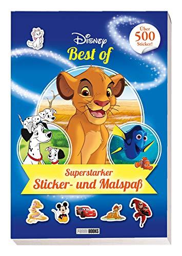 Disney Best of: Superstarker Sticker- und Malspaß: über 500 Sticker
