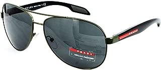 Prada Sport PS53PS Sunglasses-ROV/1A1 Military Green (Gray Lens)-62mm