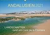 Andalusien - Landschaften rund um Conil de la Frontera (Wandkalender 2021 DIN A2 quer): Landschaften eines andalusischen Küstenorts (Monatskalender, 14 Seiten )