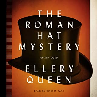 The Roman Hat Mystery audiobook cover art