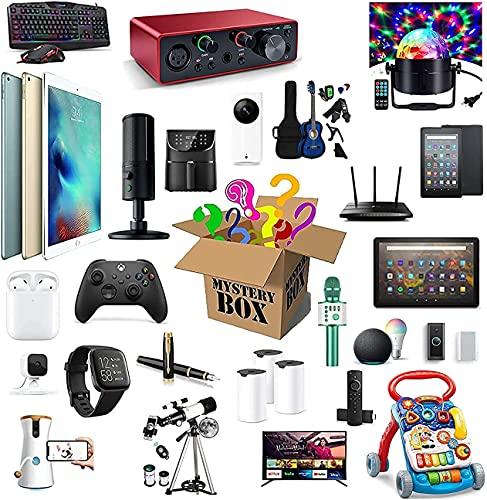 Caja misteriosa Caja Lucky, una caja de suerte interesante y emocionante, el teléfono móvil, el altavoz Bluetooth, la cámara digital y los productos electrónicos le brindarán diferentes experiencias d