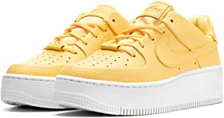 [ナイキ] WOMENS AIR FORCE 1 SAGE LOW TOPAZ GOLD/TOPAZ GOLD-WHITE AR5339 700 [並行輸入品]