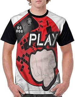 BlountDecor Fashion T-Shirt,Wooden Parquet Motif Fashion Personality Customization