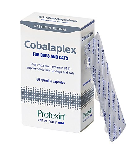 Protexin Veterinary Cobalaplex Chicken Flavoured Capsules, 60-Count