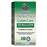 Garden of Life Raw Probiotics, Colon Care, 30 Veggie Caps, 1 Units