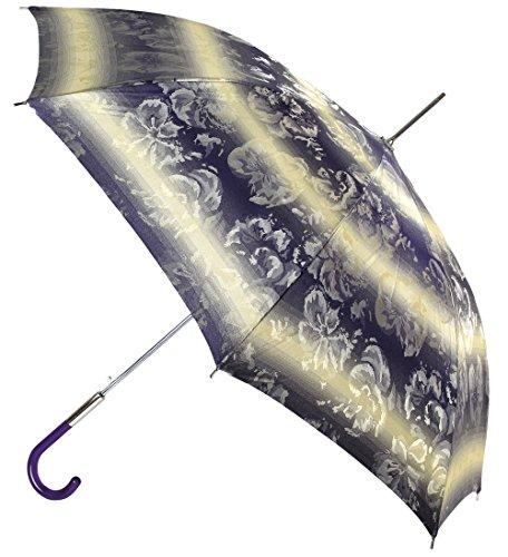 VOGUE- Paraguas Mujer. Paraguas Elegante y Exclusivo confeccionado con Tejido Jacquard Estampado. Puño de metacrilato. Paraguas antiviento y automático.