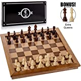 "Best Chess Sets - Chess Armory Large 17"" Wooden Chess Set Review"