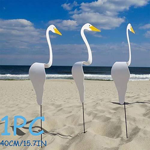 TriLance Swirl Bird-a whimsical and dynamic bird that spins with the slight garden breeze, Gartenfigur, Gartendeko, aufwendig verarbeitet, Statue Art Tier Dekor (A)