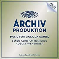 Music For Viola Da Gamba [4 CD] by August Wenzinger (2014-04-15)
