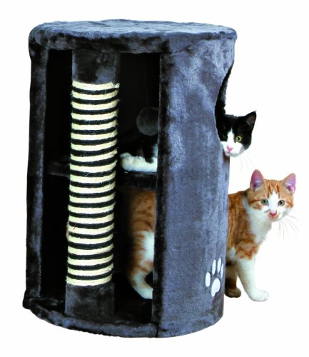 Trixie 4336 Cat Tower Dino, 58 cm, anthrazit