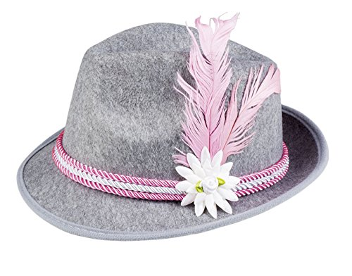 Boland 10117554 Hut Oktoberfest, womens, Pink, One Size