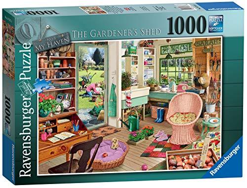 Ravensburger My Haven Nr. 8 The Garden Shed Puzzle für Erwachsene und Kinder, ab 12 Jahren