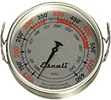 Escali AHG2 Extra Large Direct Grill Surface Thermometer, 100-600F Degree Range, Silver