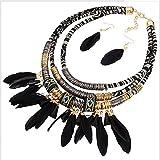 La versión Coreana de los nuevos Collares de Perlas fijó la joyería de la Boda para el Diamante de la Novia y el Conjunto de Collares de...
