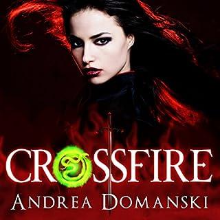 Crossfire audiobook cover art