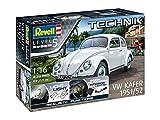 Revell Kit de modelo, Volkswagen VW Escarabajo 1951/1952 con Elektronik para interesantes Efectos 1: 16 Escala (00450) , color/modelo surtido