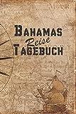Bahamas Reise Tagebuch: 6x9 Reise Journal I Notizbuch mit Checklisten zum Ausfüllen I Perfektes Geschenk für den Trip nach Bahamas für jeden Reisenden