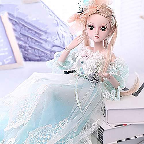 Reborn Baby doll Niedliche Kleidung Schuhe, können Sich verkleiden, Mädchen Spielzeug Geschenke 60 cm / 23,6 Zoll