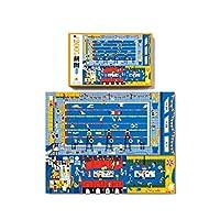 ファミリーゲーム 子供のためのかわいい漫画のジグソーパズル、子供のための200の大きなピースのパズル知的おもちゃ、49 x 38.5 cm 2021ギフト (Color : Swimming pool)