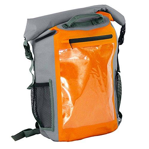 Aquapac Deluxe Expedition Sup Rucksack, Orange/Grau, Einheitsgröße